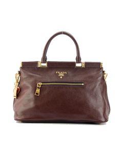 Prada 2011 designer handbag Coffee