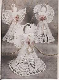 Resultado de imagen para patrones de angeles en crochet