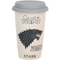 Game Of Thrones Mug (169.445 IDR) ❤ liked on Polyvore featuring home, kitchen & dining, drinkware, food and game of thrones