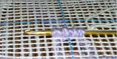M.C.G. Textiles - Rug Hooking Demonstration