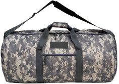 "31""ACU Duffel Bag Army Digital Camo Camouflage Hunting Camping Travel"