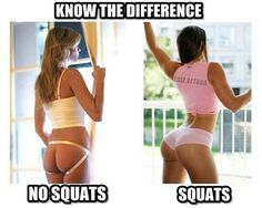 NO SQUATS VS SQUATS