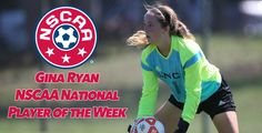 UNCP's Ryan Named Women's Soccer National Player of the Week