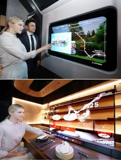At the upcoming virtual CES 2021, LG Display will be displaying a range of new products equipped with its brand-new transparent OLED displays. These Transparent OLED products are chosen as per the changing lifestyle and provide a glimpse of efficacy of these transparent displays. One of the products designed for home is a Smart Bed that will be showcased in a Smart Home Zone at the company's online showroom. This smart bed features a 55-inch Transparent OLED display on one end. Smart Home Appliances, Lg Display, Smart Bed, Best Espresso Machine, Trendy Home, Showroom, House Design, Range, Lifestyle