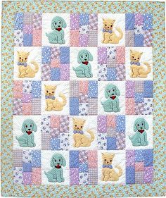Polka Dot Pets Quilt Pattern by Darlene Zimmerman - Click Image to Close