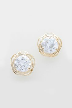 Anna Earrings in Gold | Women's Clothes, Casual Dresses, Fashion Earrings & Accessories | Emma Stine Limited #jewels