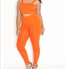 Plus size 2 piece set!!!! Size 3X from Rebdolls! Plus size 2 piece set!!!! Size 3X. From Rebdolls! Check out the details regarding fabric, size and stretch! New with tags but its too big on me and Im too short! Its true to size with stretch! Pants Straight Leg
