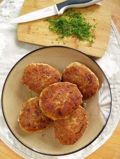 Soczyste kotlety mielone (z porem i ziemniakiem)