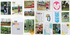 Christin aka Umenorskan scrapper: Project Life i Norge gjestedesigner Scrapbook Sketches, Life Inspiration, Project Life, Mittens, My Life, Gallery Wall, Barn, Holiday Decor, Frame