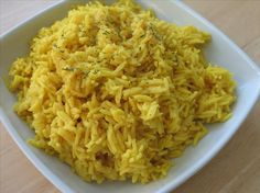 Curry Flavored Rice