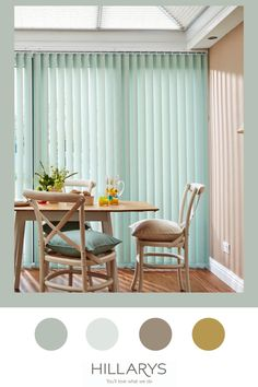 For any pastel enthusiast, the Florence Green Vertical blind might be the complete answer for your conservatory space. The mint green background is complemented with a subtle white wavy design, which can almost be missed by the naked eye. It is the type of effect which deliver freshness and the feeling of morning dew straight to a window. The cool green tone will work with other pastel shades such as light blues, lavender, aqua and even light pink. View this fabric and order your free sample. Conservatory Dining Room, Conservatory Ideas, Mint Green Background, Morning Dew, Pastel Shades, Florence, Blinds, Naked, Lavender