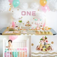 Balloons in crib photo idea