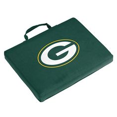 Logo Brand Green Bay Packers Bleacher Cushion, Multicolor