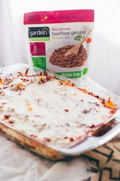 Meatless Lasagna - Dad With A Pan