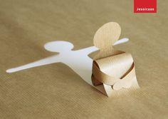 DIY: paper art.. Nothing serious... just cute..: