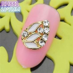 Tint 10PCS RH881 Special Design Luxury Rhinestone 3D Alloy nail art DIY Nail beauty Nail Decoration Nail Salon -- Continue to the product at the image link.