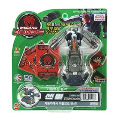 #TurningMecard #Stronghorn #Gray Ver #Transformer #Robot #Korea TV Animation Car #Toys