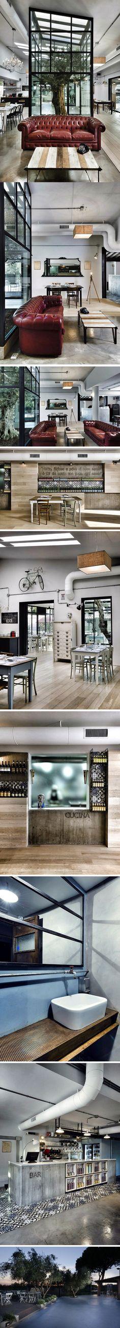 KOOK Restaurant & Pizzeria par Noses Architects - Journal du Design