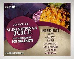 Slim Sippings Juice
