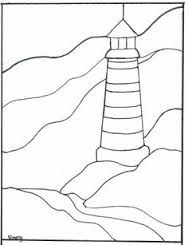 lighthouse pair with sail boat bevel  kit