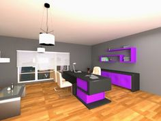 Consejos para diseñar oficinas con ergonomía adecuada goo.gl/d5Qn1i 3d, Architecture, Modern Offices, Labor Positions, Interiors, Contemporary Architecture, Kitchens, Tips, Trendy Tree
