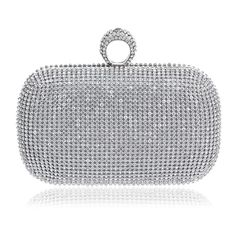 99a07dc23e07c 2016 NEW Rhinestones women clutch bags diamonds finger ring evening bags  crystal wedding bridal handbags purse bags holder