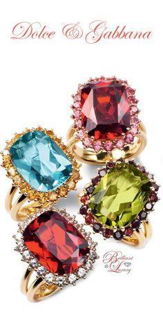 Brilliant Luxury by Emmy DE ♦Dolce & Gabbana Rings