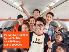 Vé máy bay Tết 2017 đi Hải Phòng giá rẻ Jetstar từ 890000 đồng