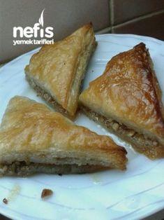 Şipşak Baklava (milföyden) Easy Cake Recipes, Dessert Recipes, Desserts, Breakfast Recipes, Dinner Recipes, Pastry Recipes, Food Cakes, Fancy, Yummy Food