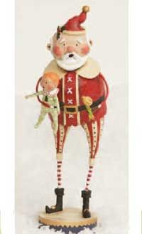Have this one, he's larger than the others.  sweet santa from Lori Mitchell