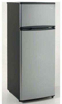 Vissani 4 3 Cu Ft Mini Refrigerator In Stainless Look
