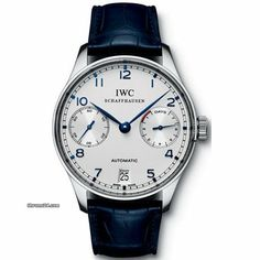 IWC Portuguese 7 Day Power Reserve.  This is OR 4000.  And my top pick IWC!  Any colour/hands/whatever.  I really like it.