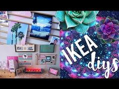 DIY Room Decor Using IKEA Homeware | Pinterest and Tumblr Inspired - YouTube