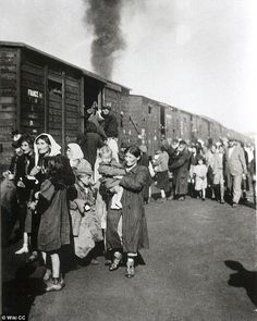 Exploited: Poles sold Treblinka death camp arrivals water arriving off the train. Girls prostituted themselves to Nazi guards in exchange for treasures stolen from the Jews before they were sent to the gas chambers