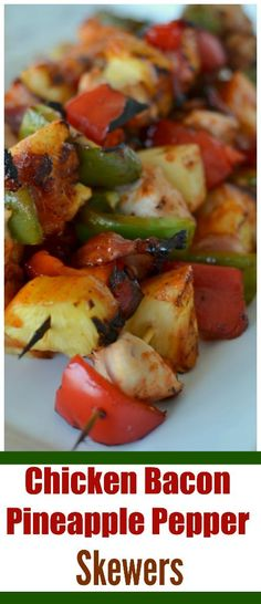 28417 best quick and easy dinner recipe ideas images on pinterest in barbecue chicken chicken and pineapple chicken and bacon bacon and pineapple shish kabobs grilled skewers grilled chicken kabob recipe forumfinder Gallery