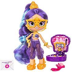 (Jenni Lantern) - Shopkins Lil Secrets Shoppie - Collectable Doll Plus Shoppies Dolls, Shopkins And Shoppies, Kawaii Crush, Shopkins Happy Places, Pop Up Princess, Secret Party, Robots For Kids, Masquerade Party, Barbie Accessories