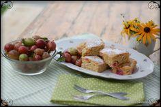 The Kitchen Lioness: Gooseberry Cake - Stachelbeerkuchen