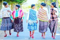 Xhosa Attire, Shweshwe Dresses, African Traditional Wedding, Africa Dress, Modern Fabric, Fashion Outfits, Wedding Dresses, Designers, Fabrics
