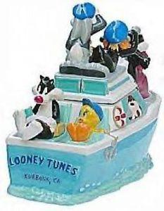 Looney Tunes Crusing Boat Cookie Jar by Warner Brothers Studio Stores