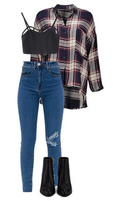 """#238"" by mintgreenb on Polyvore featuring WithChic and Alexander Wang"