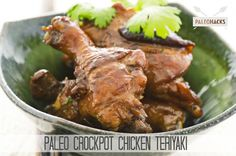 Paleo Crockpot Chicken Teriyaki Recipe