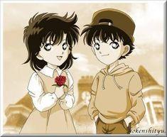 Little Kaito & Aoko (Detective Conan)