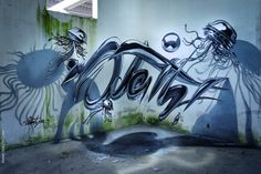 17 Amazing 3D Graffiti Artworks That Look Like They're Floating In ...