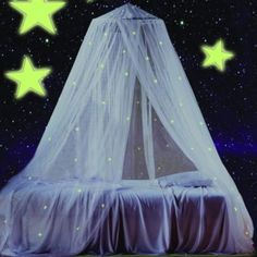 Glow in the Dark Canopy - BedBathandBeyond.com