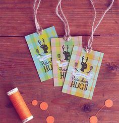 Free Printable Reindeer Tags