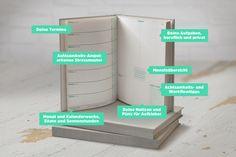 Ein guter Plan. Ein guter Plan ist Terminkalender, Lebensplaner und Sachbuch in einem. Crowdfunding-Projekt von Jan Lenarz.