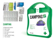 Funky Concepts: Camping – First Aid and Emergency Kit