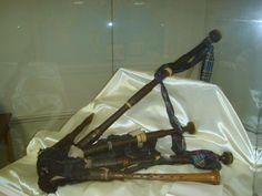 Bagpipes that were played during the Battle of Culloden in 1746.
