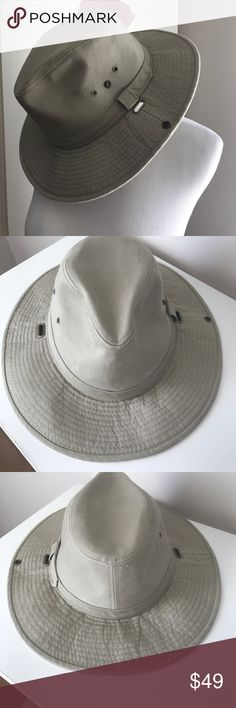 Nwot men's tilly 🎩 neutral tan hat Very cool never worn brand new filly hat very cool color taupe/tan jhats Accessories Hats