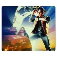 26x21cm 10x8inch personal gaming mousemats accurate cloth antislip rubber Sharp Image Quality person @ niftywarehouse.com #NiftyWarehouse #BackToTheFuture #Movie #Film #Movies #Gifts